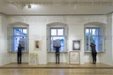 City Gallery Vysoke Myto, vernissage of paintings, building,