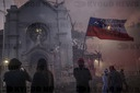 Chilean Protesters Burn Churches, Loot Stores Ahead of Constitutional Referendum in Santiago, Chile - 18 Oct 2020