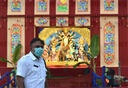 First day of Durga Puja Festival in Kolkata