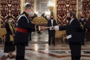 Custody of ambassadors for the presentation of Letters of Credence