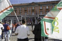 strike by trade unions in 40 Italian squares for the renewal of workers' contracts