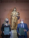Agreement signed for the restoration of the work 'Virgin and Child' of the Museum of Fine Arts of Seville