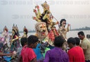 Bangladesh: Durga immersion