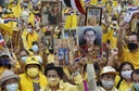 Pro-royalists Protest in Bangkok