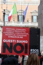 Rome, Protest workers of Congresses and events against DCPM