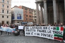 Rome, Protest by gym owners and sports workers