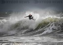 Big Wave Surfing In Wales