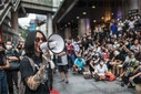 Pro-democracy protest in Silom Road in Bangkok, Thailand - 29 Oct 2020