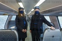 TRAIN NMBS SNCB NEW UNIFORMS