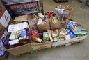 food bank, national charity collection of food and drugstore goods