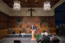 Ceremony for the 75th anniversary of the Nuremberg war crimes trials