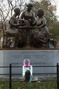 Women's Rights Pioneers Monument in Central Park