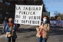Vallecas defends public health with a big march to the Hospital Infanta Leonor